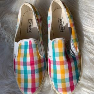 Stripped Slip Ons